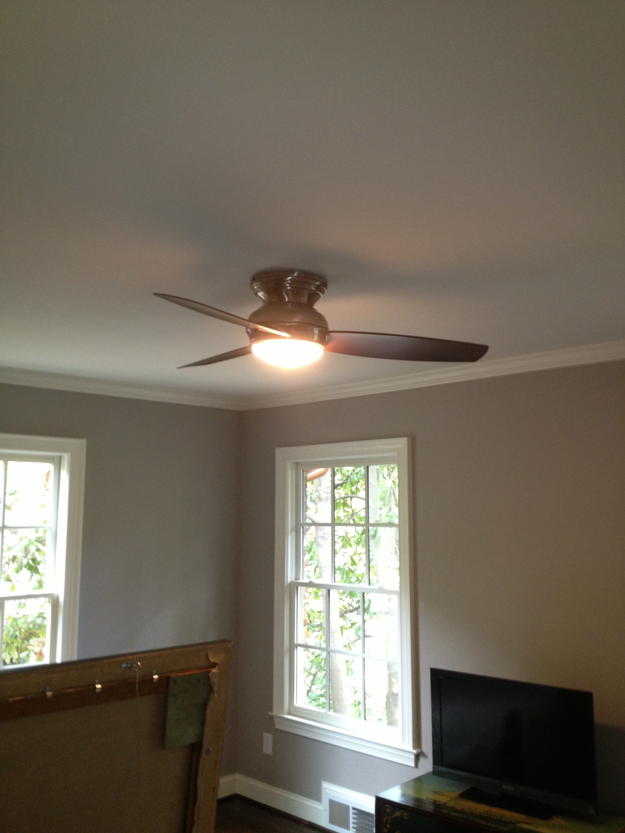 Ceiling fan installation the watt doctor for Bedroom ceiling fans